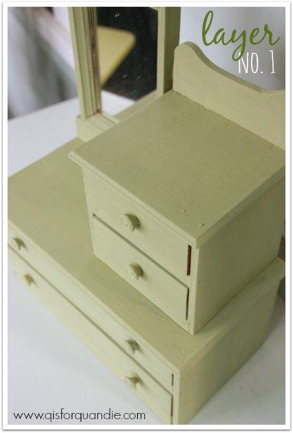mini dresser layer no 1