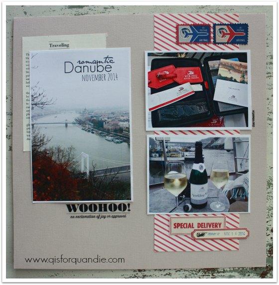 Danube scrapbook pg 1