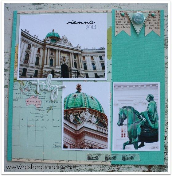 Danube scrapbook pg 3