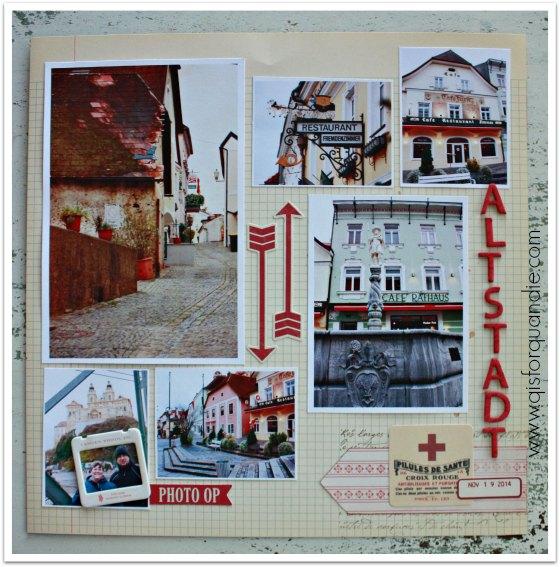 Danube scrapbook pg 4
