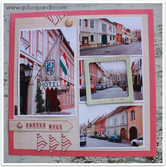Danube scrapbook pg 9