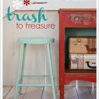 trash to treasure.