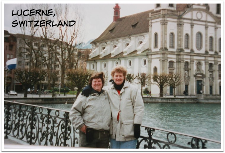 deb and I in Lucerne