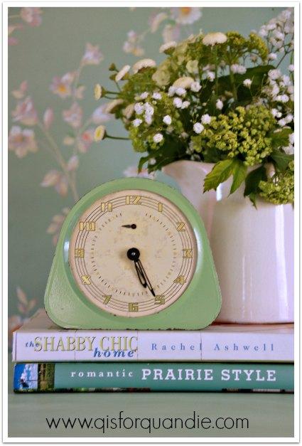 lily pond clock
