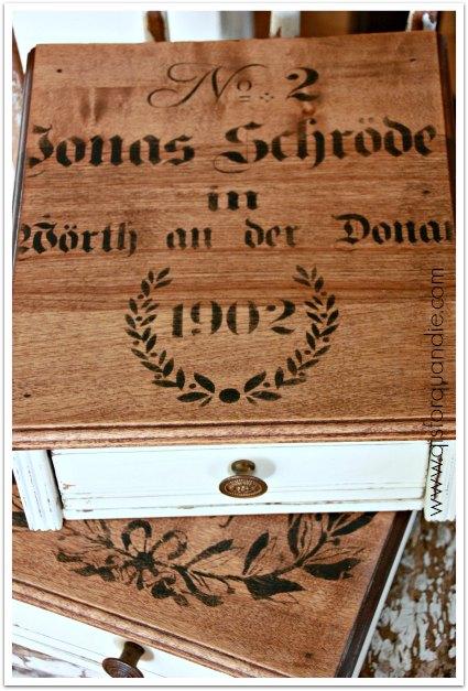 orphan drawer tops