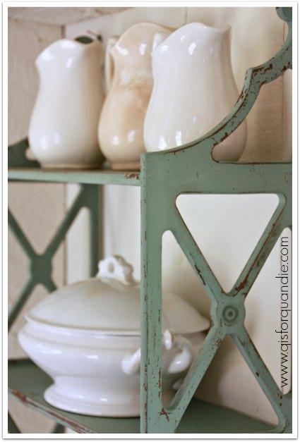 shelf close up