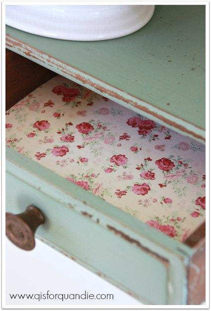 shelf drawer lining