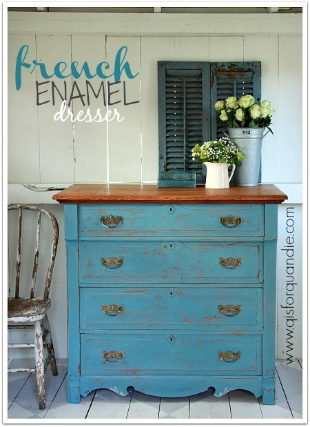 french enamel dresser 2