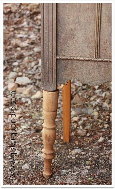 radio cabinet legs