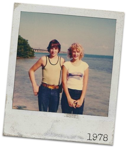 1978 Mike and Linda