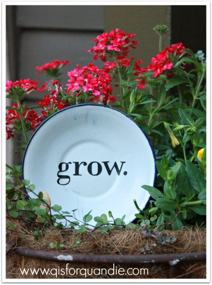 cricut enamelware grow