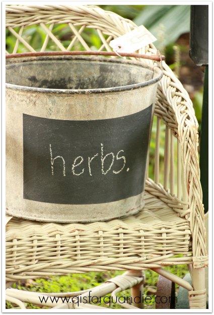 herb bucket