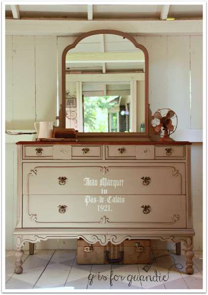 coco dresser with mirror