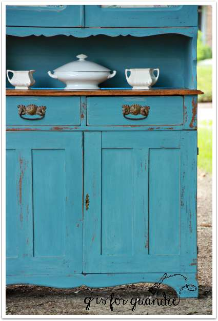 farmhouse cupboard, lower half