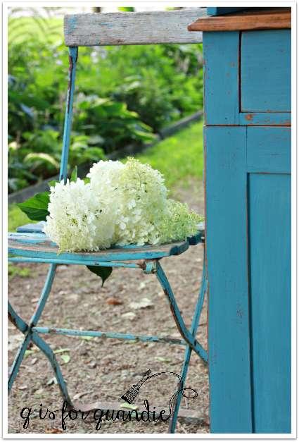 farmhouse hydrangeas