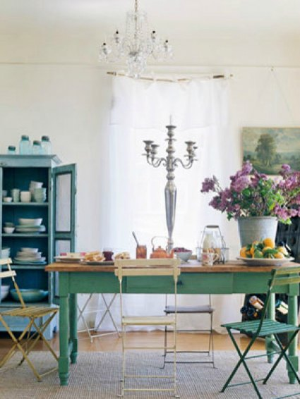green table inspiration