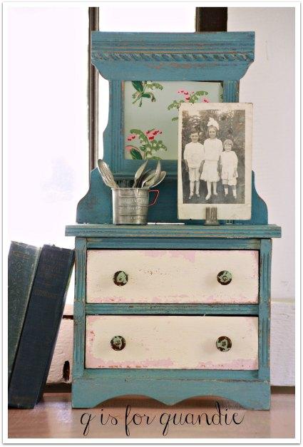 mini dresser after