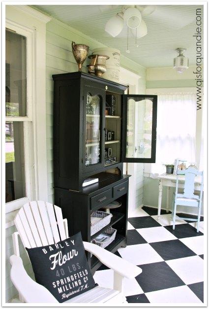 porch cabinet