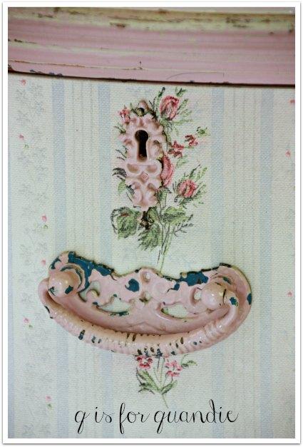 rose dresser hardware