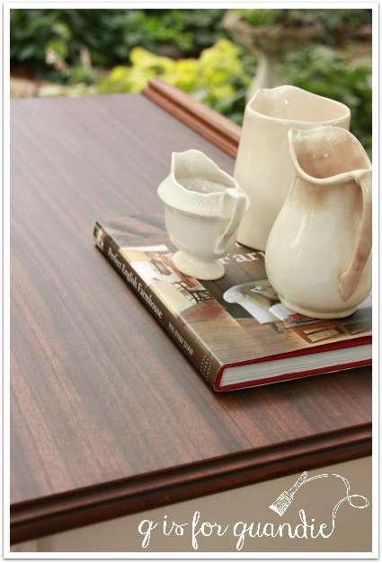 almond dresser top