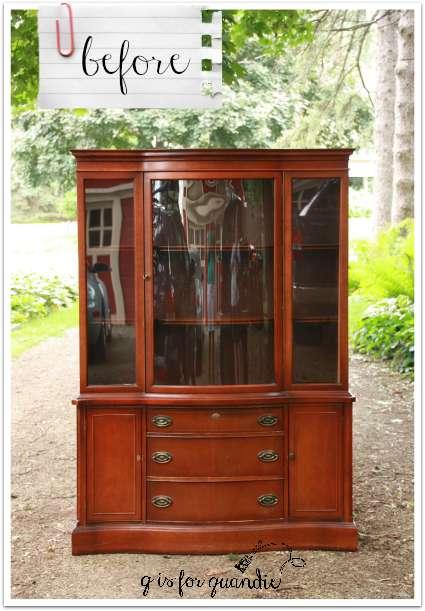 china cupboard before