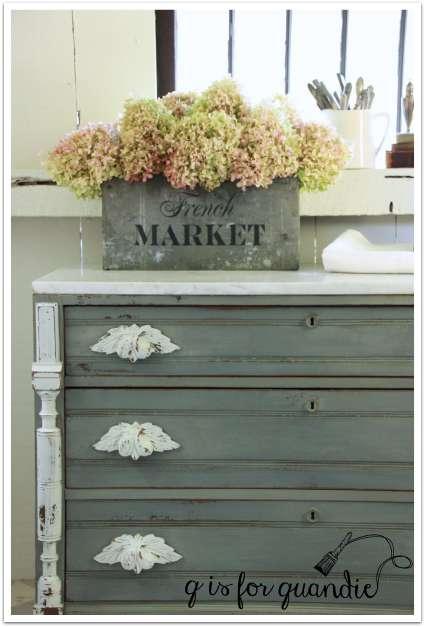 marble dresser corner