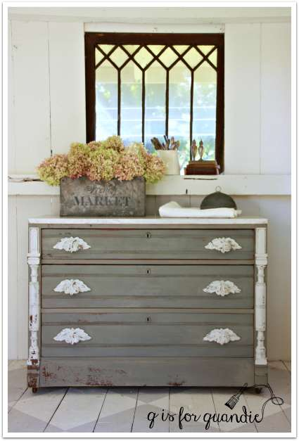 marble topped dresser