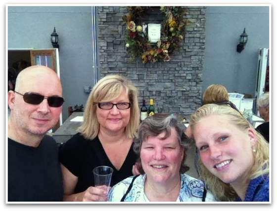 winery selfie