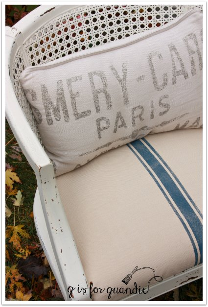 barrel chair pillow