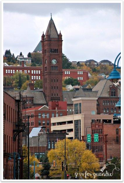 Duluth clock tower