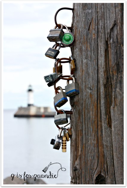Duluth love locks