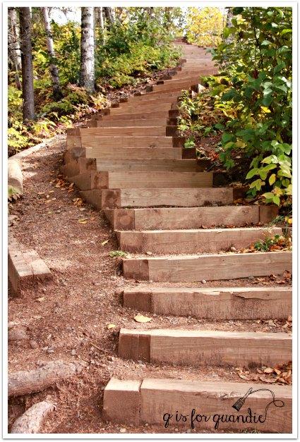 Gooseberry falls steps