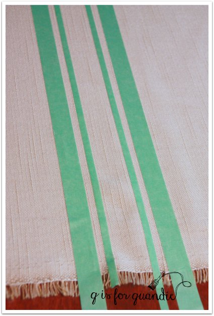 grain sack stripe tape