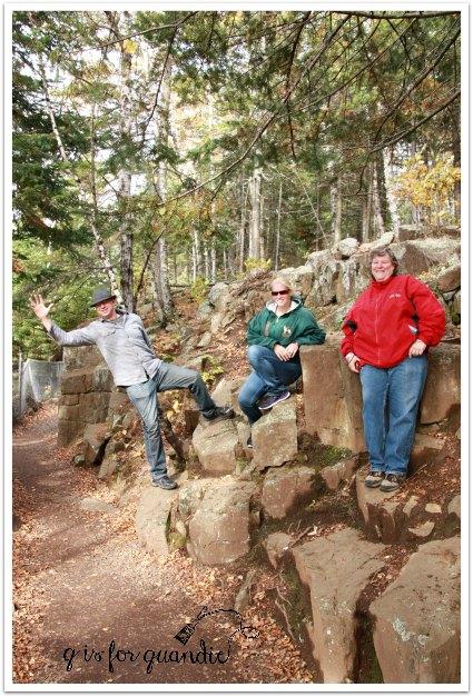 split rock hiking