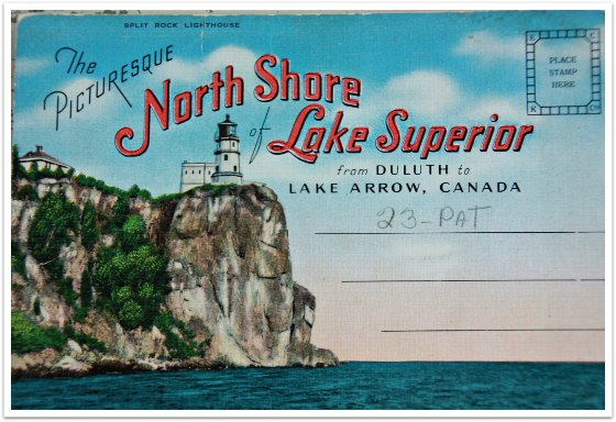 vintage Duluth postcard