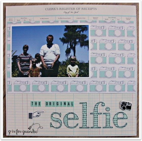 scrap selfie