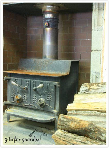 tom wood burning stove