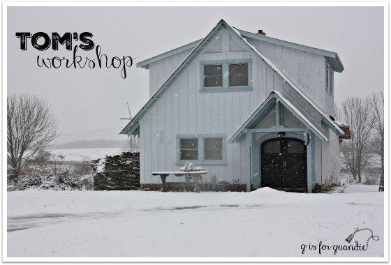 toms workshop exterior
