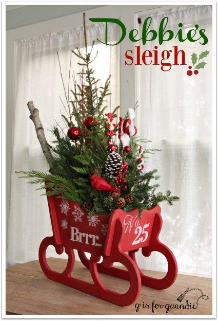 debbies sleigh filled