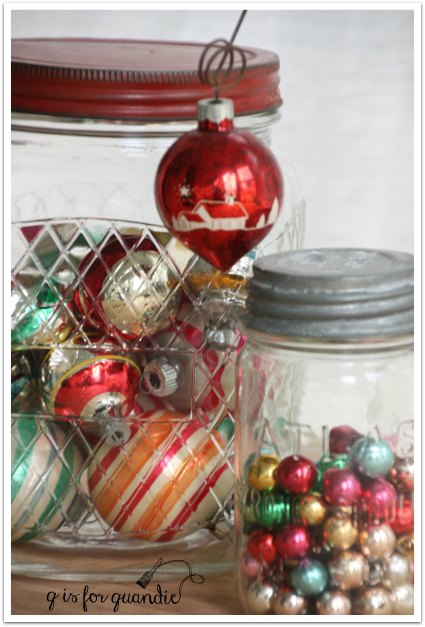 tour jars of ornaments