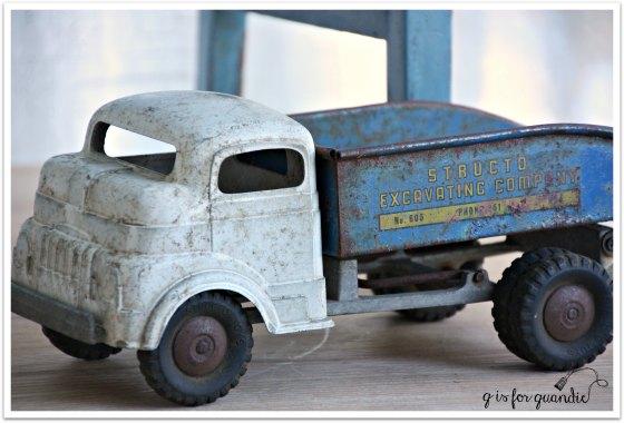 feeling blue truck