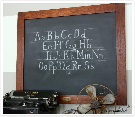 chalkboard angle