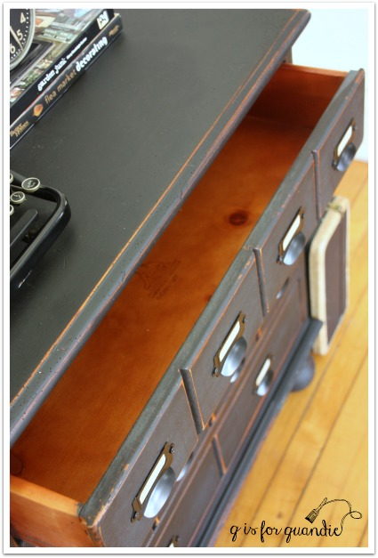 faux catalog drawer