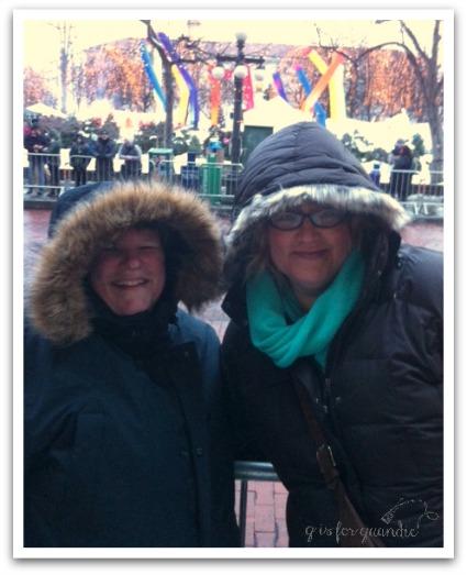 me and deb at winter carnival