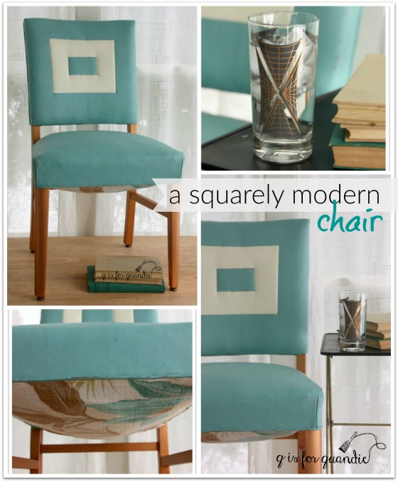 squarely modern chair collage