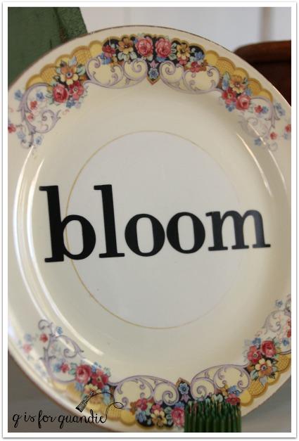 bloom plate