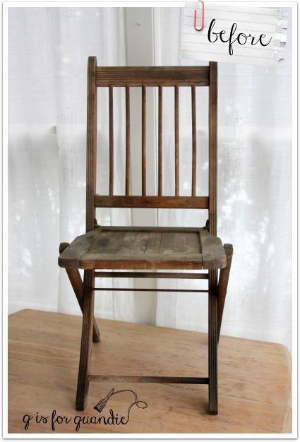 garden chair before