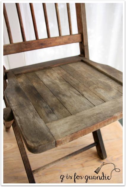 garden chair seat before