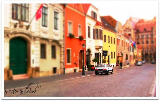 mini budapest street