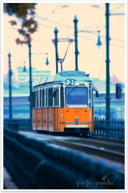 mini budapest train